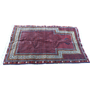 Timuri Baluchi Prayer Rug