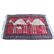 Herat Pictorial Carpet, Camels