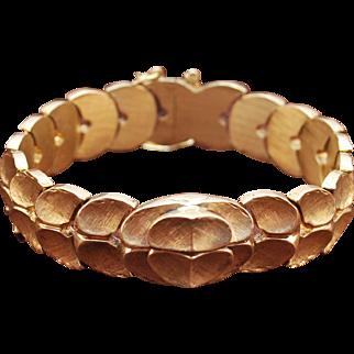 14K Gold Pedal Custom Bracelet
