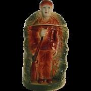 NH-2 American Bisque Davy Crockett Cookie Jar