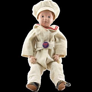 Schoenhut Art Wood boy doll - 1911