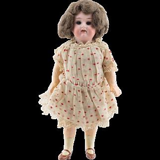 """Antique German Bisque Head Doll - 7"""""""
