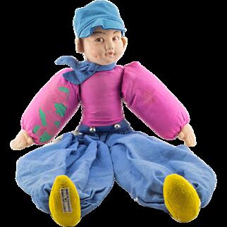 Norah Wellings Dutch Boy Doll - Pyjama Case