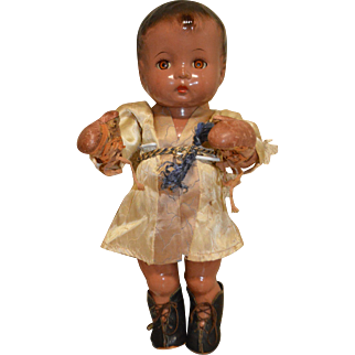 "Effanbee Black ""Champ"" Candy Kid doll"