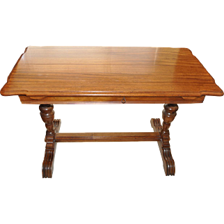 Magnificent Extending Library Table c.1900