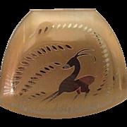 Vintage Elgin American Gazelle- Deer Compact