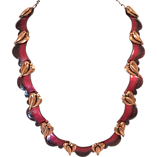 Matisse Enamel Necklace