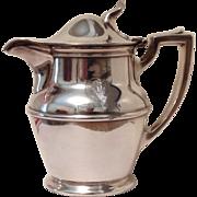Silverplate Creamer from Hotel Virginia - Meriden Company