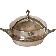 Gorham Domed Butter / Cheese Server Silverplate