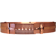 Renoir Copper Belt- 1950's Size Small - Red Tag Sale Item