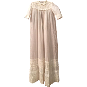 Vintage Long Christening Gown