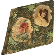 Antique Celluloid Cover Autograph/Friendship Album