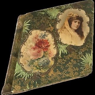 Antique Celluloid Cover Autograph/Friendship Album