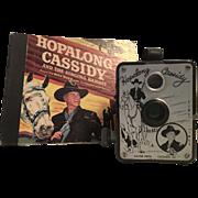 1950'S Hopalong Cassidy Camera and Record Book
