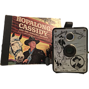 1950'S Hopalong Cassidy Camera and Record Book