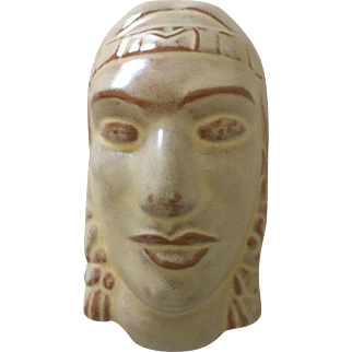 Frankoma Indian Maiden Mask