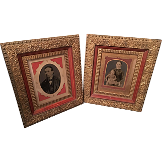 Pair of Framed Photo's - Mid to late 1800's