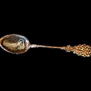 Enamel Spoon - Czechoslovakia