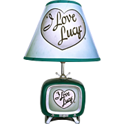 Vintage I Love Lucy TV Lamp