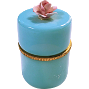 Rupel Boom Opaline Glass Trinket Box