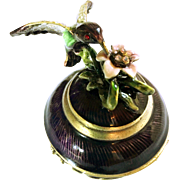 Hummingbird Trinket or Pill Box