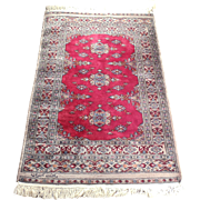 Turkomen Rug made from Wool and Cotton Weft