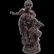 """Sisters"", Bronze Sculpture"