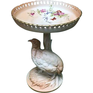 Royal Worcester Footed Compote