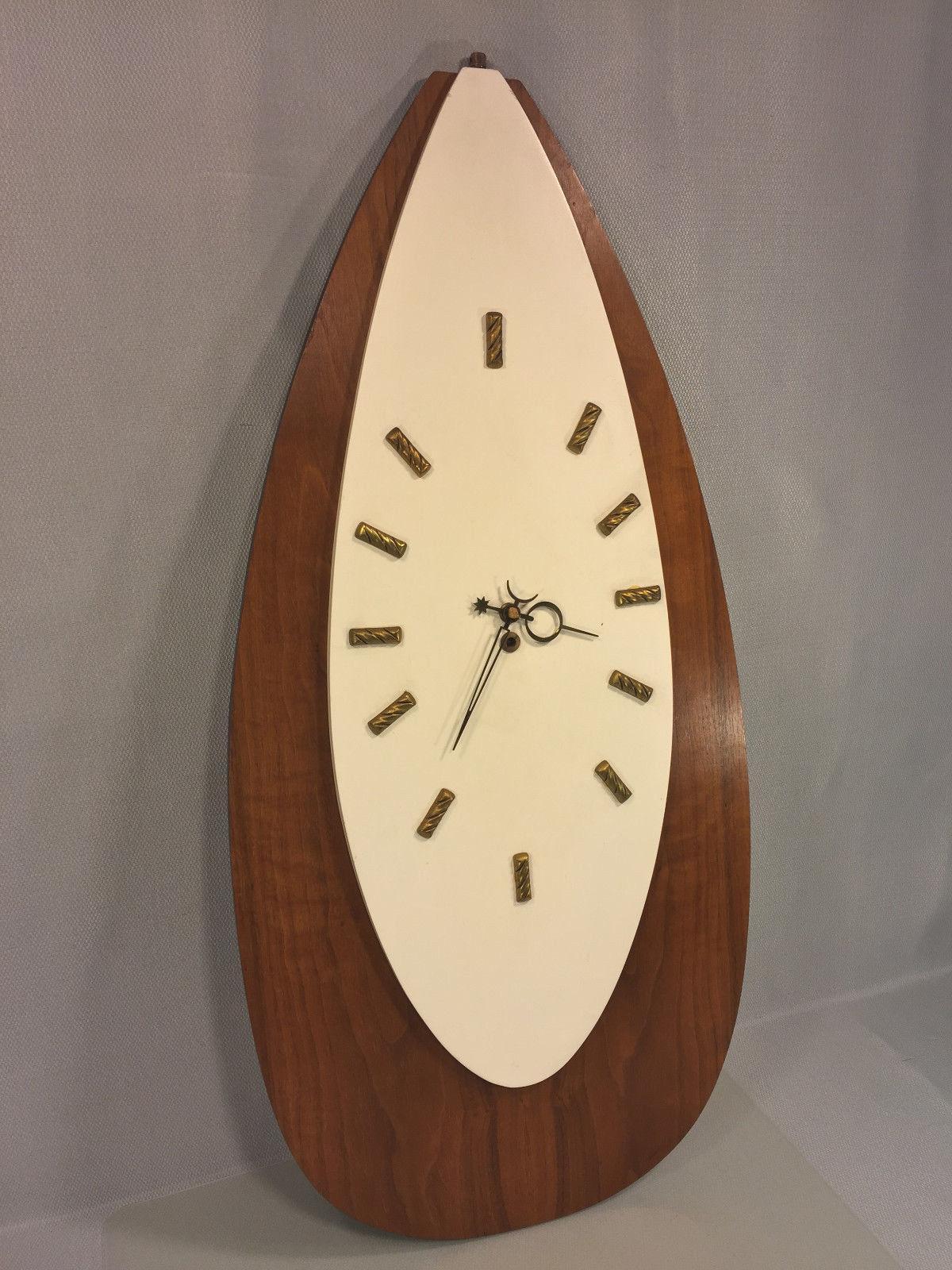 Vintage Modern Art Deco Duverdrey Amp Bloquel Wall Clock