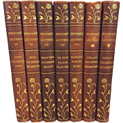 Antique Books 7 of the 16 Volumes of Stoddard's Lectures 1907