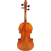 Vintage Stradivarius Model Violin Germany with Japanese Bow in Case