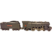 Pre War Lionel 392E Locomotive and 392W Whistling Tender