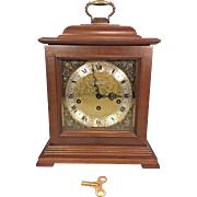 Vtg Seth Thomas Bracket Clock w/ Westminster Chimes Runs Strikes & Chimes