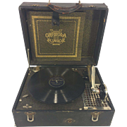 Antique Orphola Junior Phongraph Works