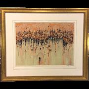 Shmuel Katz Signed Serigraph Ltd Ed 98/900 Matted & Framed Newman Galleries Philadelphia PA