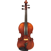 Vintage String World Viola (William Sultan) with Hard Case and Glasser 201HF Fiberglass Viola Bow
