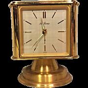 Vtg 1960s Seth Thomas Weather Station Clock Cube #167 Runs! Clock, Barometer, Thermometer & Hygrometer