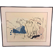 Vintage Ltd Ed Print by Orit Hofshi in Frame 1987 #2 of 3