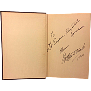 And All Points West! by William S Hart 1st Edition 1940 Signed by Author James M Flagg Illustrations Lacotah Press