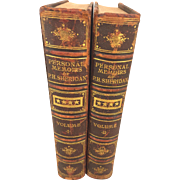 Memoirs of P H Sheridan 2 Vol Set by Philip H Sheridan 1st Edition 1888 Antique Book Union General Civil War Memoirs