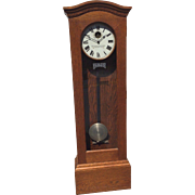 Antique Standard Electric Time Company Grandfather Master Clock Runs? Circa 1905-1910 Regulator Model 12?