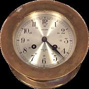 Vintage Salem Ships Bells Clock Runs Strikes