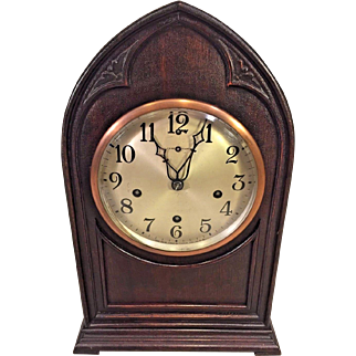 Vintage New Haven Bee Hive Cathedral Clock Westminster Chimes Not Running