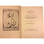 Hamilton's Itinerarium being a Narrative of a Journey From Annapolis Maryland through Delaware Pennsylvania, New York, New Jersey, Connecticut, Rhode Island, Massachusetts and New Hampshire from May to September 1744  Book by Doctor Alexander Hamilto