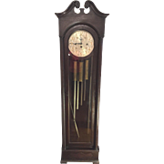 Vintage Colonial Model #1353 Grandfather Clock 5 Tubes Not Running