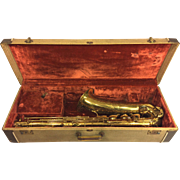 Vintage Beaugnier Paul Gerard Saxophone w/ Case 1950s France Serial # 7579