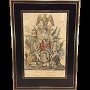 Antique Napoleon Famille Imperiale de Napoleon Pier Emperur De Francais, Roi D'Italie by Noel Freres