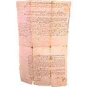 Rowland Langford Indentures (Deeds) for Land in Massachusetts - 1802 1805 & 1814