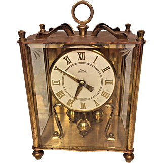 Vintage Koma Carriage Clock Not Running West Germany Time Only