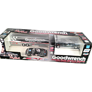 Dale Earnhardt #3 Goodwrench Racing Team Truck  & Trailer and Lumina Race Car, 1993